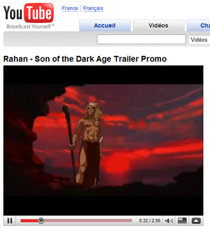 Rahan sur You Tube